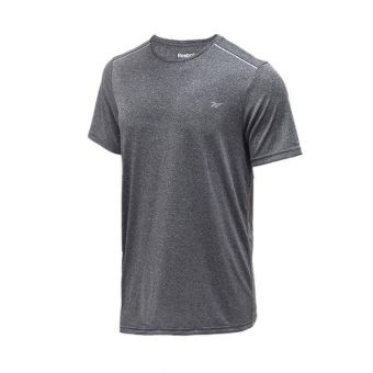 Reebok Men's Running Tee - Dark Grey
