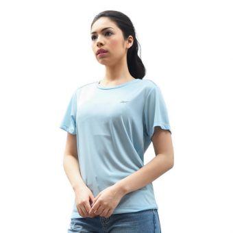 Reebok Women Running Tee - Soft Blue