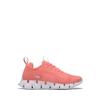Reebok ZIG DYNAMICA  Women Running Shoes - Coral/White