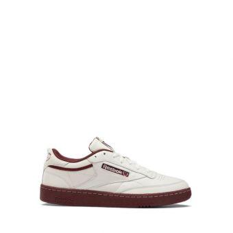 Reebok CLUB C 85 Women's Sneakers Shoes - Chalk / Merlot / Chalk