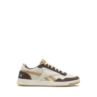Reebok KUNG FU PANDA ROYAL TECHQUE T Men's Sneakers Shoes - Classic White / Terra Brown / Beige