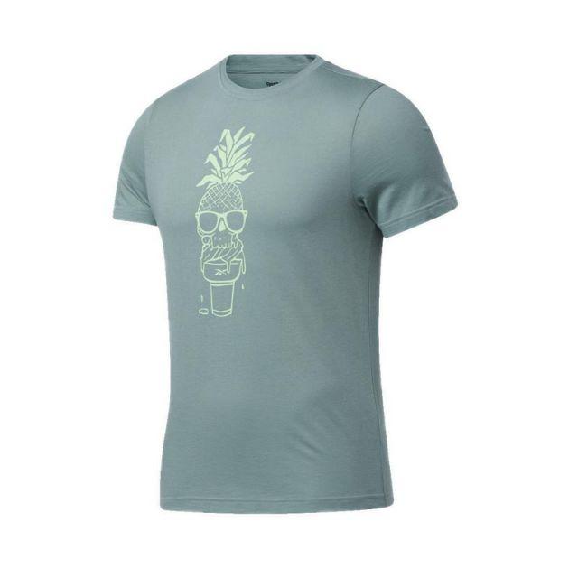 Reebok Chill Pineapple SS Men's Tee - Green