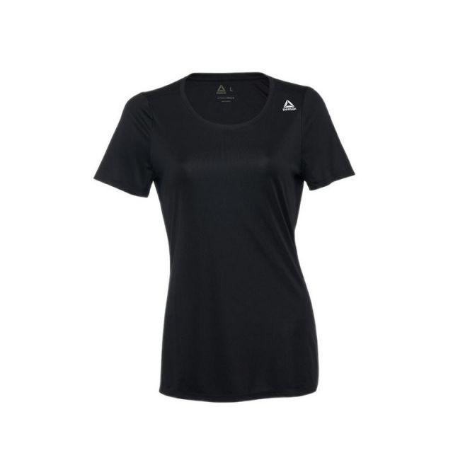 Reebok SS Women's Running Tee - Black