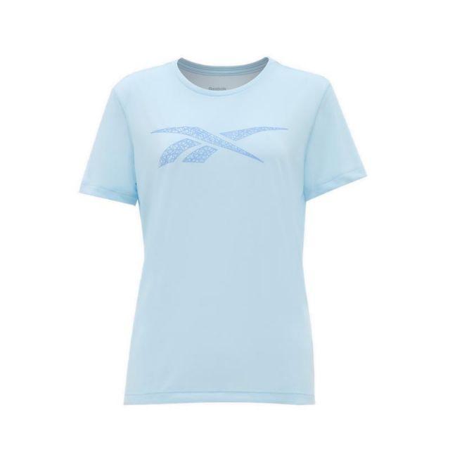 Reebok Women's Training Tee - Sky Blue