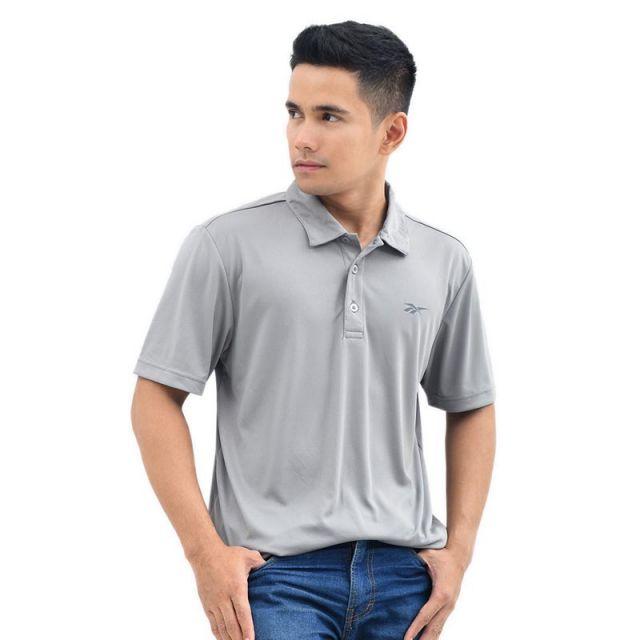 Reebok Men's Training Polo - Grey